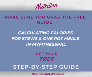 Calorie Counting Meal MyFitnessPal